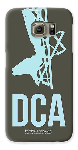 Dca Washington Airport Poster 1 Galaxy S6 Case by Naxart Studio