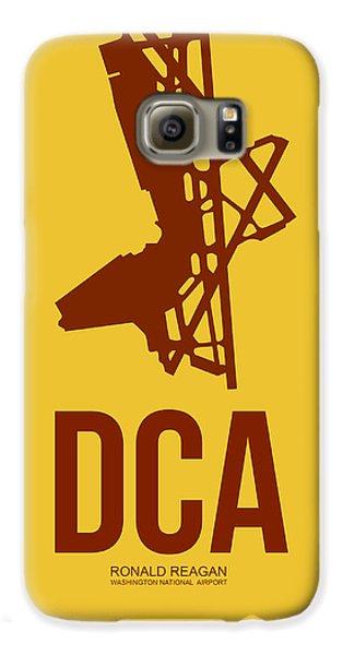 Dca Washington Airport Poster 3 Galaxy S6 Case by Naxart Studio