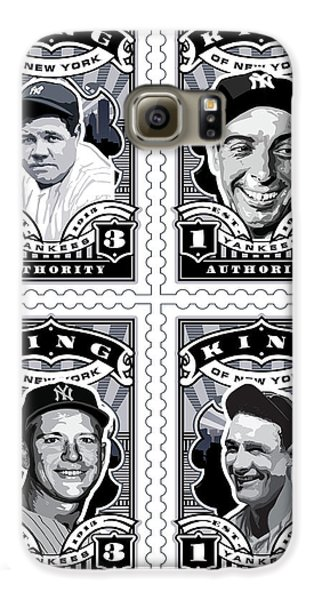 Dcla Kings Of New York Combo Stamp Artwork 1 Galaxy S6 Case by David Cook Los Angeles