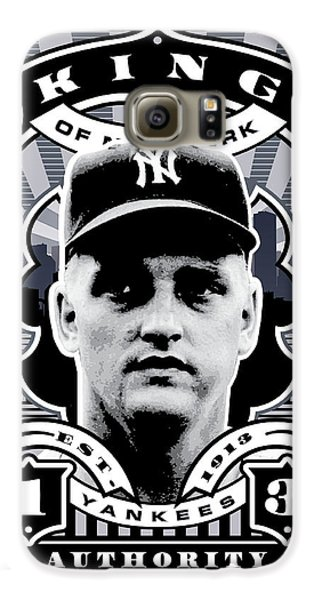 Dcla Roger Maris Kings Of New York Stamp Artwork Galaxy S6 Case by David Cook Los Angeles