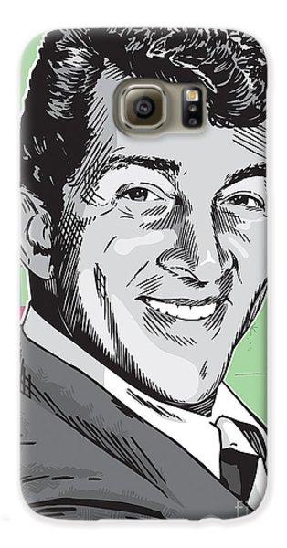 Dean Martin Pop Art Galaxy S6 Case by Jim Zahniser