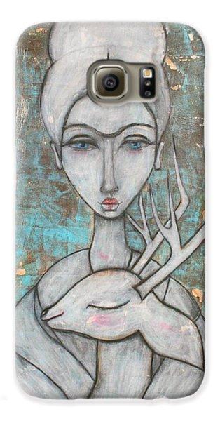 Deer Frida Galaxy S6 Case by Natalie Briney