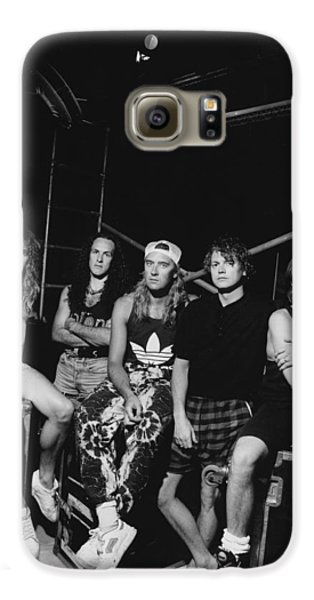 Def Leppard - Adrenalize Tour B&w 1992 Galaxy S6 Case by Epic Rights