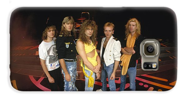 Def Leppard - Round Stage 1987 Galaxy S6 Case by Epic Rights