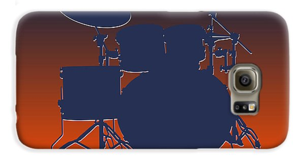 Denver Broncos Drum Set Galaxy S6 Case by Joe Hamilton