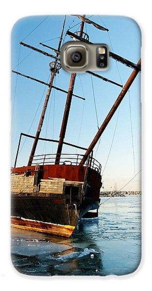 Derelict Faux Tall Ship Galaxy Case by Trever Miller