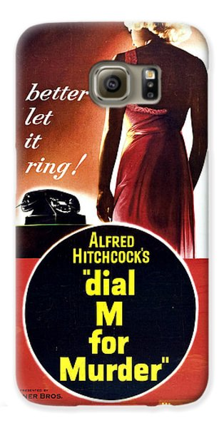 Dial M For Murder - 1954 Galaxy S6 Case by Georgia Fowler