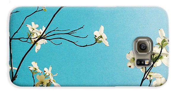 Dogwood Blooms Galaxy S6 Case by Kim Fearheiley