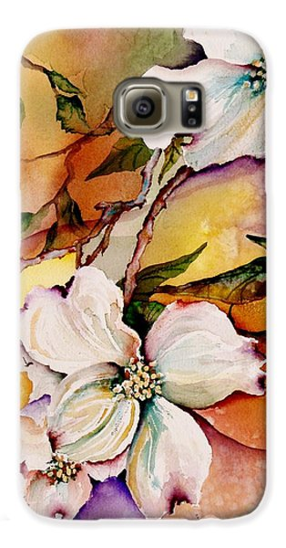 Dogwood In Spring Colors Galaxy S6 Case by Lil Taylor