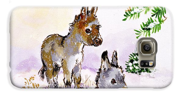 Donkeys Galaxy S6 Case by Diane Matthes