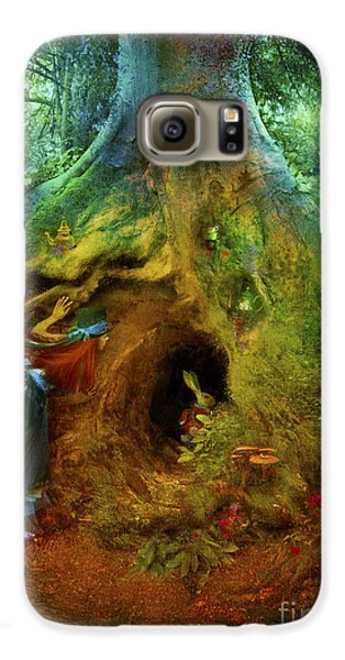 Down The Rabbit Hole Galaxy S6 Case by Aimee Stewart