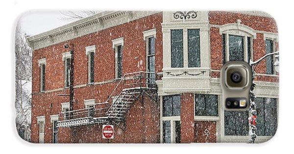 Downtown Whitehouse  7031 Galaxy S6 Case by Jack Schultz