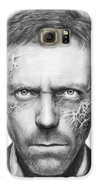 Dr. Gregory House - House Md Galaxy S6 Case by Olga Shvartsur