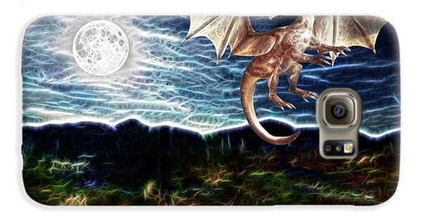 Dragon Night Galaxy Case by Methune Hively