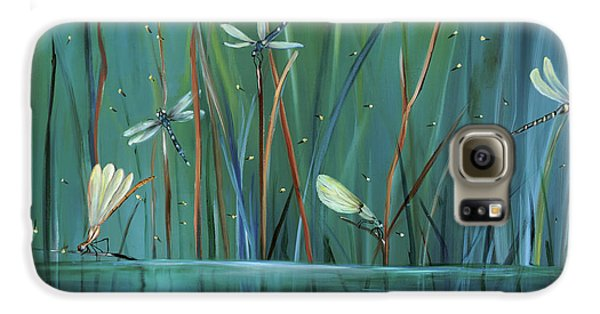 Dragonfly Diner Galaxy S6 Case by Carol Sweetwood