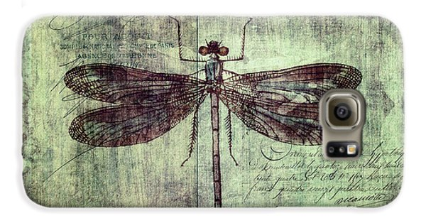 Dragonfly Galaxy S6 Case by Priska Wettstein