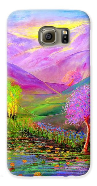 Dream Lake Galaxy S6 Case by Jane Small