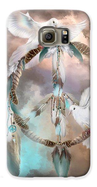 Dreams Of Peace Galaxy S6 Case by Carol Cavalaris