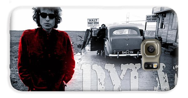 Bob Dylan Galaxy S6 Case by Marvin Blaine