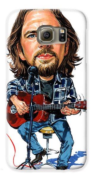 Eddie Vedder Galaxy S6 Case by Art