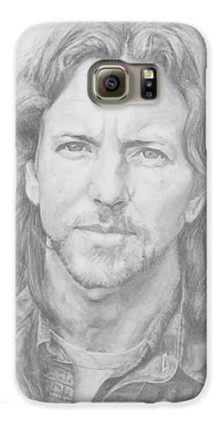 Eddie Vedder Galaxy S6 Case by Olivia Schiermeyer