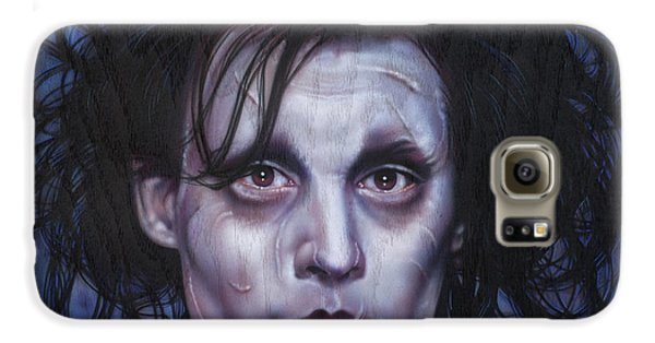 Edward Scissorhands Galaxy S6 Case by Tim  Scoggins