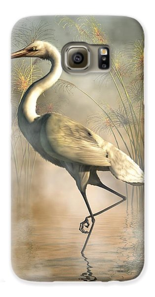 Egret Galaxy S6 Case by Daniel Eskridge