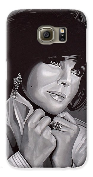 Elizabeth Taylor Galaxy S6 Case by Paul Meijering