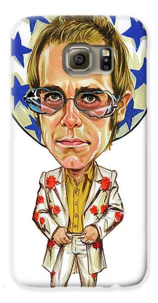 Elton John Galaxy S6 Case by Art