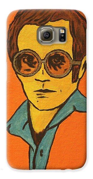Elton John Galaxy S6 Case by John Hooser