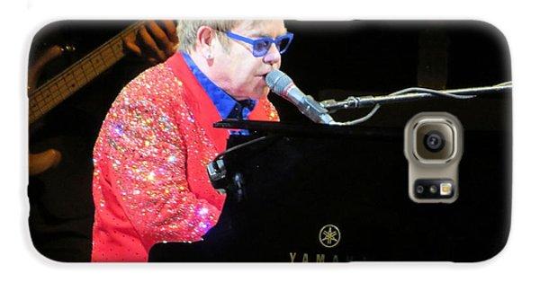 Elton John Live Galaxy S6 Case by Aaron Martens