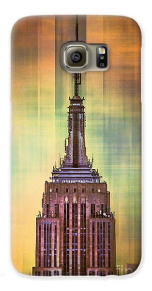 Empire State Building 3 Galaxy S6 Case by Az Jackson