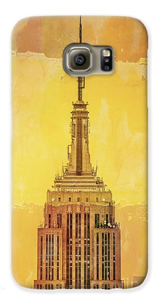 Empire State Building 4 Galaxy S6 Case by Az Jackson