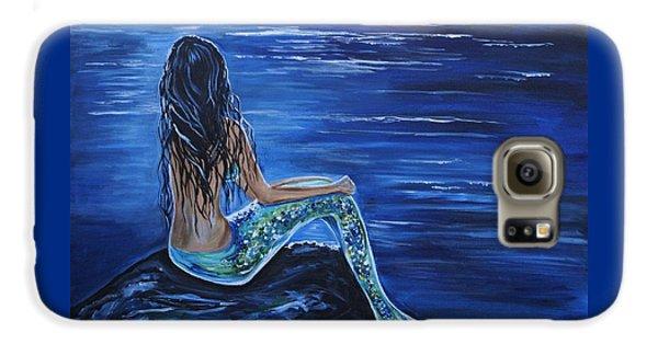 Enchanting Mermaid Galaxy S6 Case by Leslie Allen