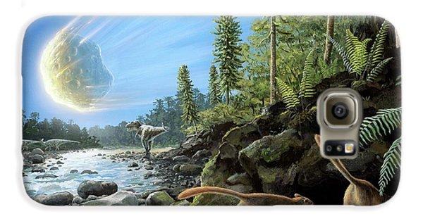 End Of Cretaceous Kt Event Galaxy S6 Case by Richard Bizley