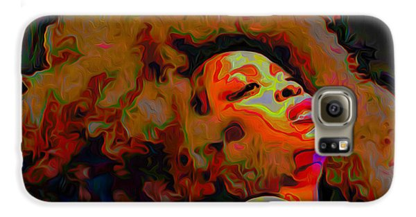 Erykah Badu Galaxy S6 Case by  Fli Art