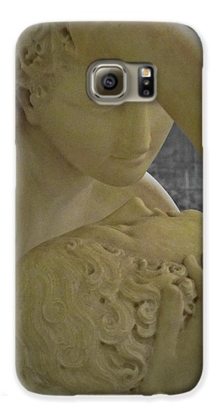 Eternal Love - Psyche Revived By Cupid's Kiss - Louvre - Paris Galaxy S6 Case by Marianna Mills