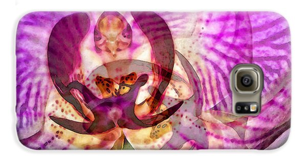Ethereal Orchid By Sharon Cummings Galaxy S6 Case by Sharon Cummings