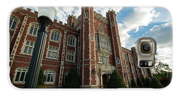 Evans Hall In The Evening Galaxy S6 Case by Nathan Hillis