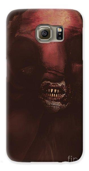 Evil Greek Mythology Minotaur Galaxy S6 Case by Jorgo Photography - Wall Art Gallery