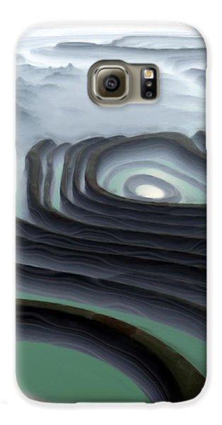 Eye Of The Minotaur Galaxy S6 Case by Pet Serrano