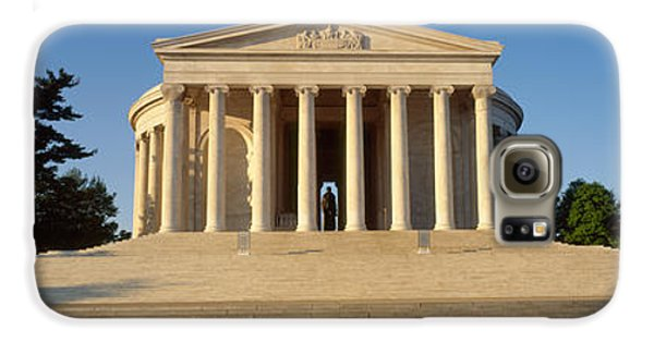 Facade Of A Memorial, Jefferson Galaxy S6 Case by Panoramic Images