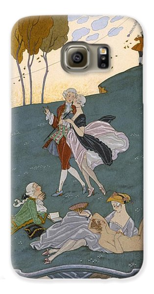 Fetes Galantes Galaxy S6 Case by Georges Barbier