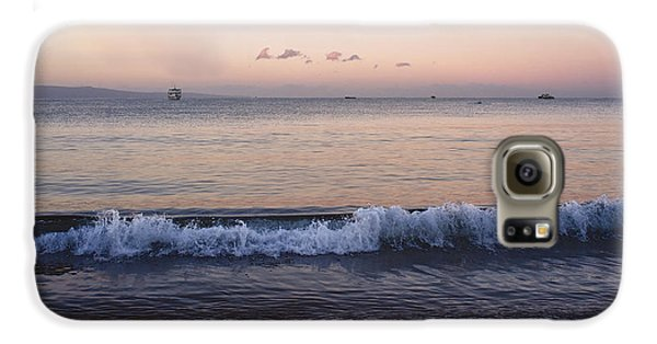 First Light On Ma'alaea Bay Samsung Galaxy Case by Trever Miller