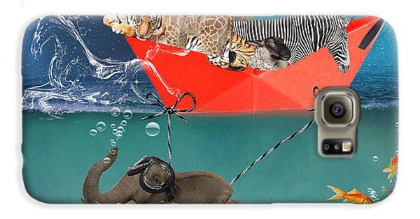 Floating Zoo Galaxy S6 Case by Juli Scalzi