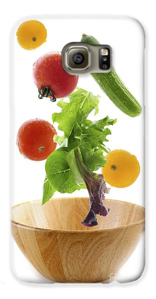 Flying Salad Galaxy S6 Case by Elena Elisseeva