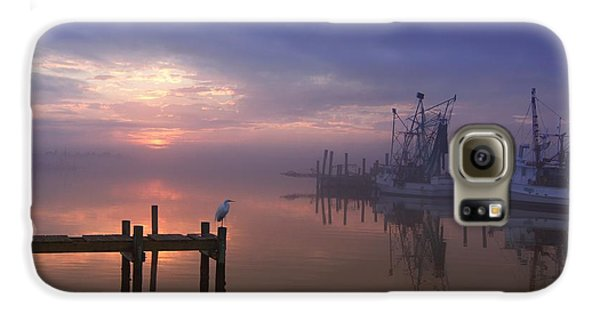 Foggy Sunset Over Swansboro Galaxy S6 Case by Benanne Stiens
