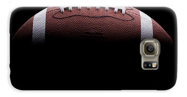 Football Painting Galaxy S6 Case by Jon Neidert