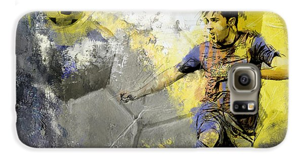 Football Player Galaxy S6 Case by Catf