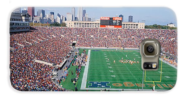 Football, Soldier Field, Chicago Galaxy S6 Case by Panoramic Images
